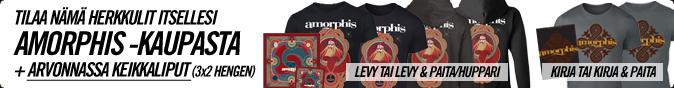 Tilaa nämä herkkulit itsellesi Amorphis-kaupasta!