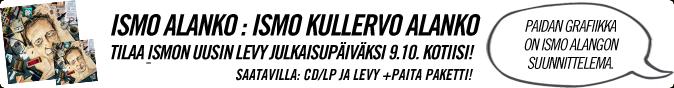 Ismo Kullervo Alanko 9.10.