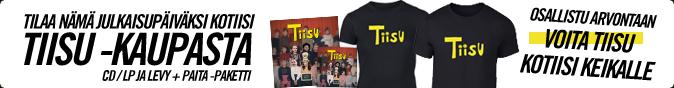 Tilaa nämä julkaisupäiväksi kotiisi Tiisu-kaupasta!